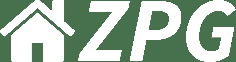 ZPG Logo - white